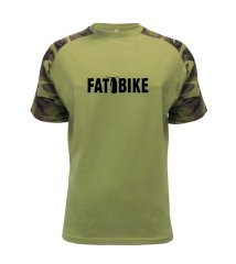 Fat bike nápis Raglan Military