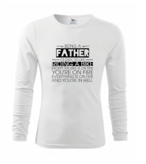 Being a father - bike Triko s dlouhým rukávem FIT-T long sleeve