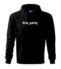 #na_party Mikina s kapucí hooded sweater