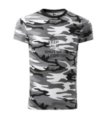 Keep calm and shut your legs Army CAMOUFLAGE