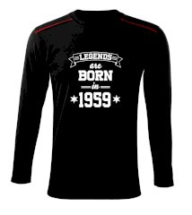 Legends are born in 1959 Triko s dlouhým rukávem Long Sleeve