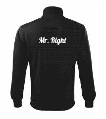 Mrs Right - Mr Right Mikina bez kapuce Adventure