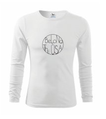 Belong to The USA Triko s dlouhým rukávem FIT-T long sleeve