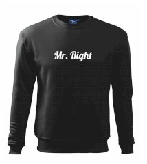 Mrs Right - Mr Right Mikina Essential pánská