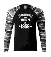 Legends are born in 1959 Camouflage LS