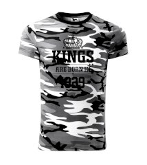 Kings are born in 1929 Army CAMOUFLAGE