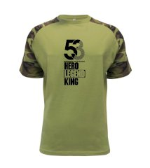Hero, Legend, King x Queen 1953 Raglan Military
