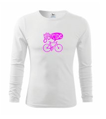 Lets go ride Triko s dlouhým rukávem FIT-T long sleeve
