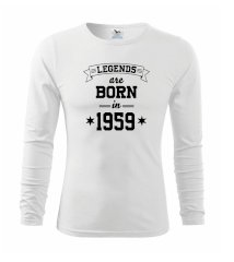 Legends are born in 1959 Triko s dlouhým rukávem FIT-T long sleeve