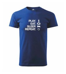 Play Eat Sleep Repeat polo - Triko Basic Extra velké