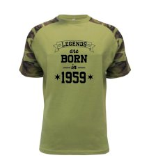 Legends are born in 1959 Raglan Military