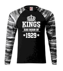 Kings are born in 1929 Camouflage LS